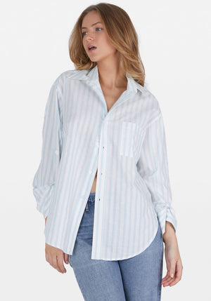 Kayla Shirt Sea Stripe