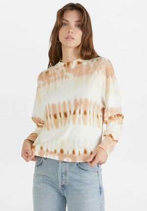 Oversized Long Sleeve Tee Chai Tye Dye