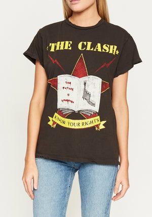 Clash Combat Rock T-Shirt