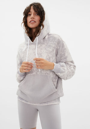 Brooklyn Oversized Hoodie Stone Dust