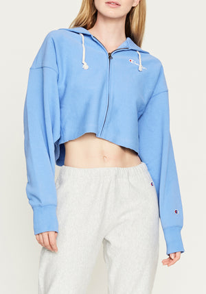 Cropped Zip Hoody