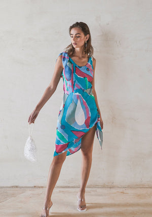 Delilah Dress Multi