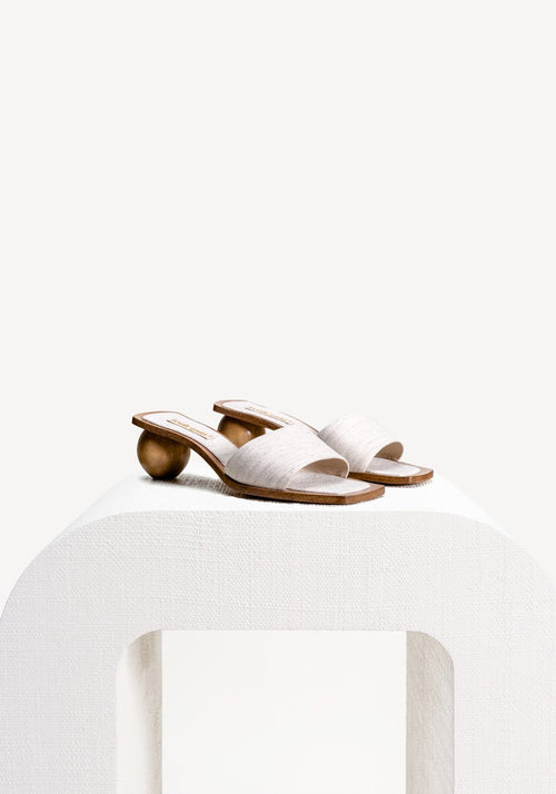Tao Sandal Natural Tan - Tuchuzy