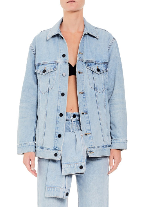 Daze Bleach Denim Jacket