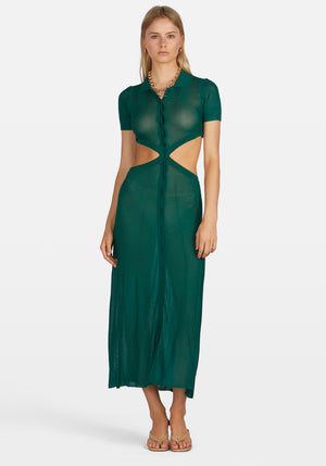 Athena Dress Green