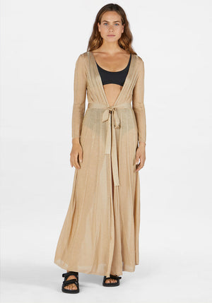 Cosette Robe Gold