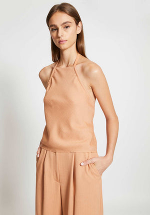 Cloth Drape E-Hook Top Clay