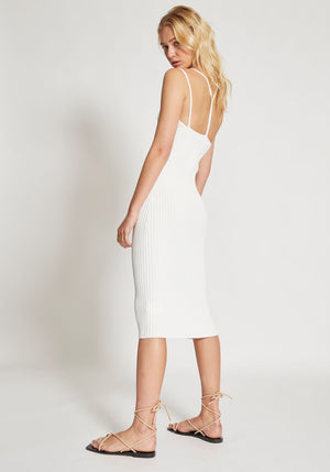Layered Bra Dress Ivory