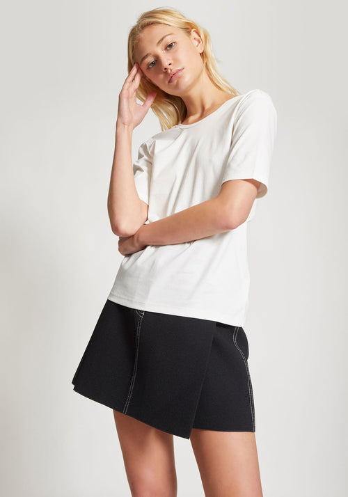 Loop Knit Tee Ivory - Dion Lee - Tuchuzy