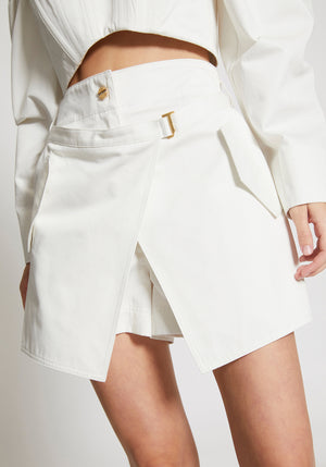 Utility Pocket Short Ivory