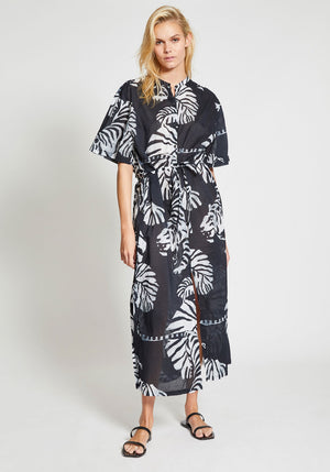 SS Maxi Dress Nightcrawler