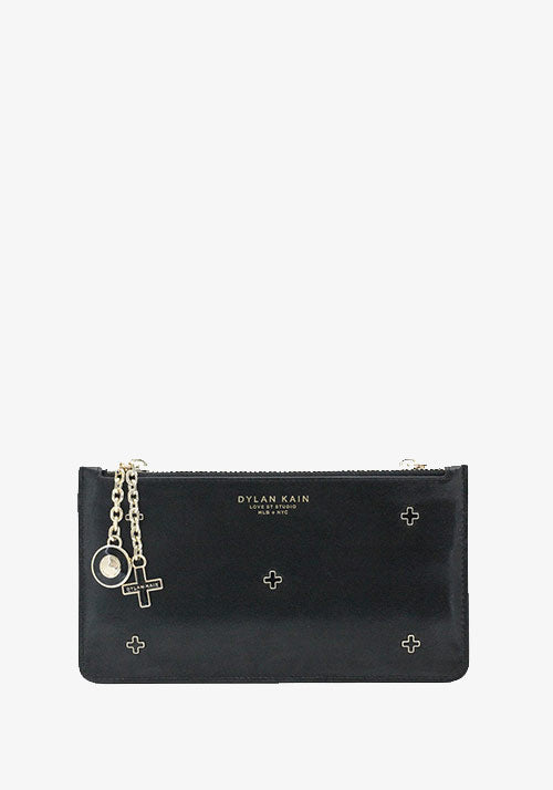 The Dana Stars Pouch Light Gold