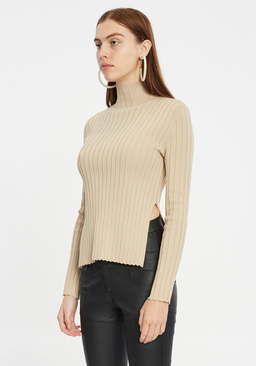 Edith Ribbed Top