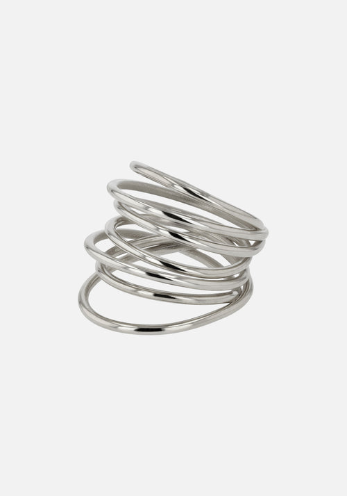 Entangled Ring Silver