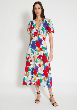 Vittoria Midi Dress Anita Floral