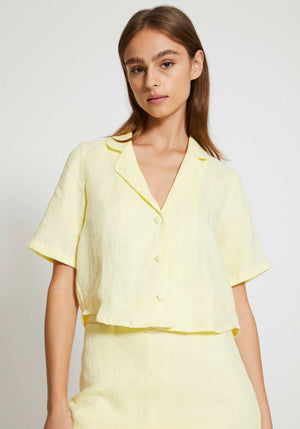 Chaumont Shirt Daffodil Yellow