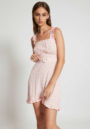 Mid Summer Mini Dress Luda Floral