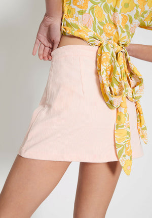 Rubina Mini Skirt Pink
