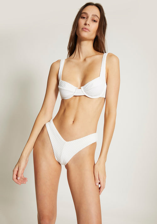Chad High Cut Bottom White - Tuchuzy
