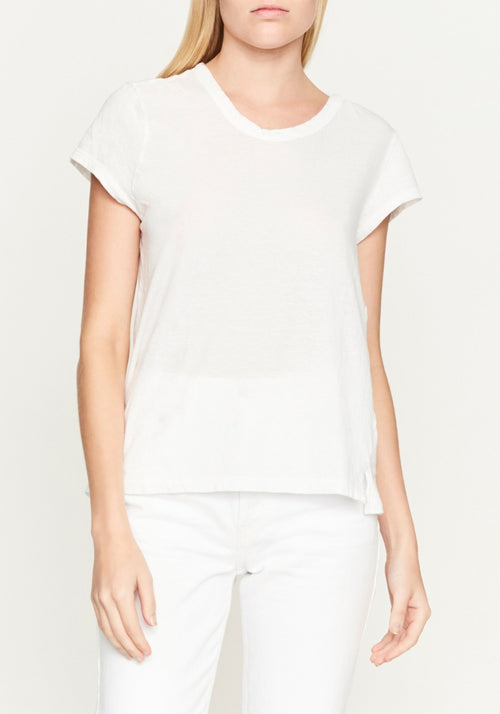 Fitted Cap Sleeve T-Shirt