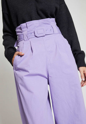 Ripstop Cotton Chino Violet Tulip