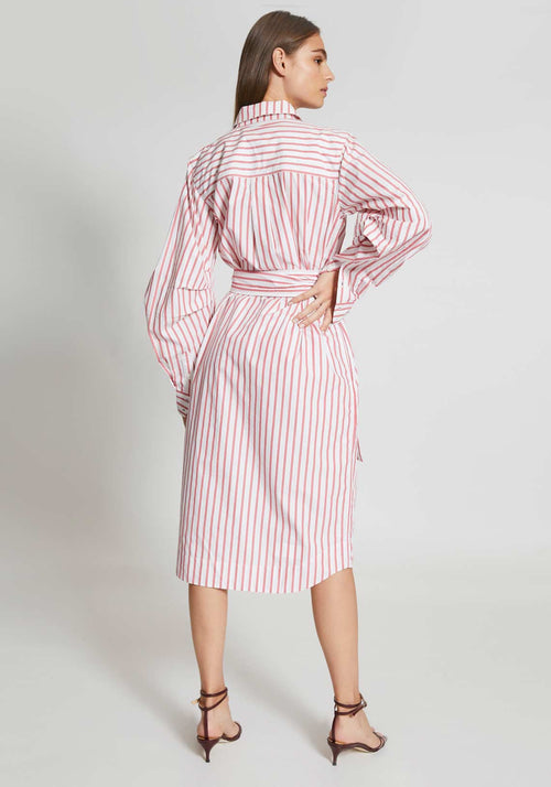 Stripe Cotton Dress Lollipop