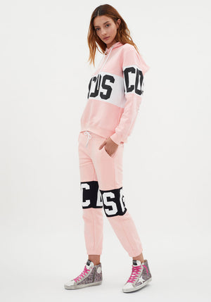 Logo Band Sweatpants Pink