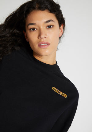 Golden Sweatshirt Black