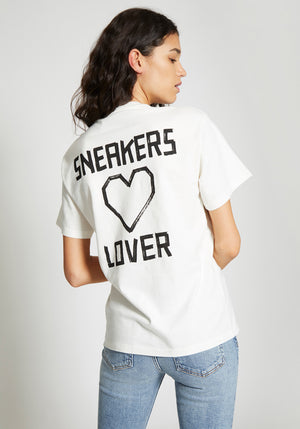 Sneaker Lover T-Shirt White