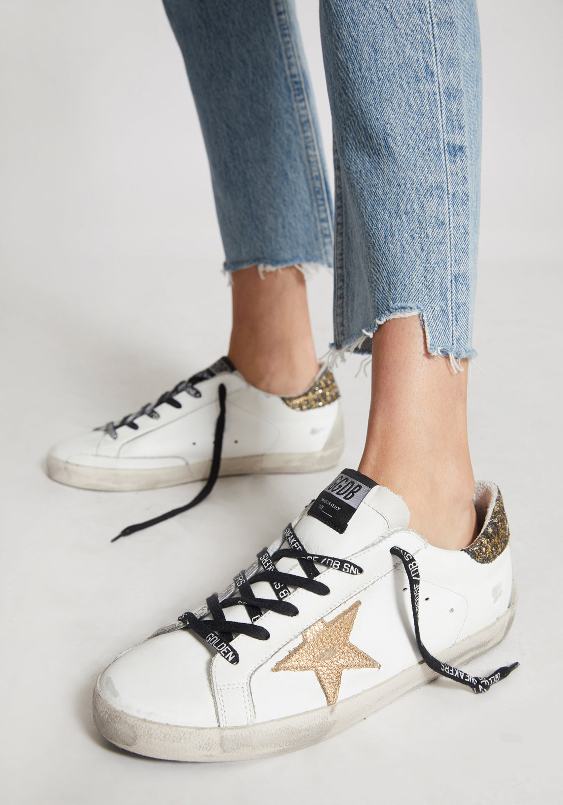 Superstar Sneakers White/Gold Coco