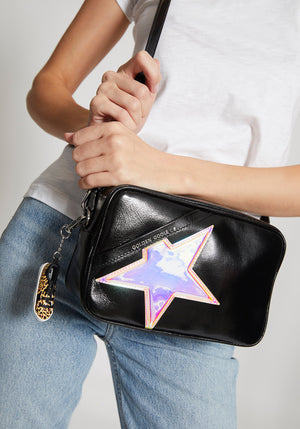 Star Bag Black/Iridescent Star