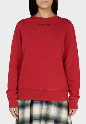 Athena Only Dream Crewneck Sweatshirt Tango Red