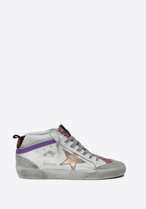 Mid Star Sneaker White/Pink/Ice/Brown/Black