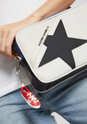 Star Bag White/Royal Blue/Red