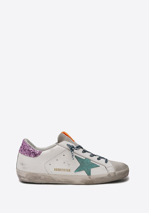 Superstar Sneaker Ice/White/Aquamarine/Pink