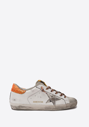 Superstar Sneaker White/Rock Snake/Orange