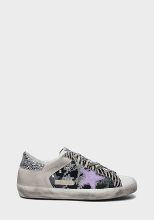 Superstar Sneakers White/Black Grey/Ice/Violet/Silver