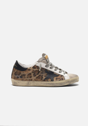 Superstar Sneakers Snow Leopard/Black Star