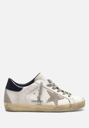 Superstar Sneakers White/Night Blue