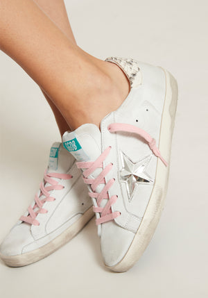 Superstar Sneaker White Nabuk/3D Star