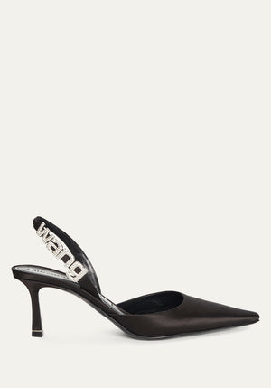 Grace Satin Heel