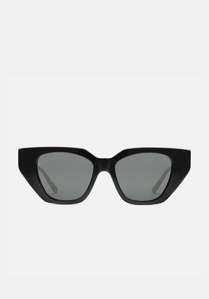Crystal Embellished Sunglasses Black