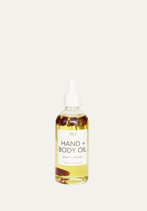 Hand And Body Oil