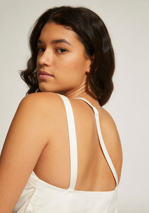 Double Slip Top Ivory - Tuchuzy