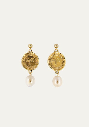 Picasso Pearl Drop Earrings