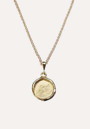 Line Saga x Holly Ryan Aquarius Necklace Gold