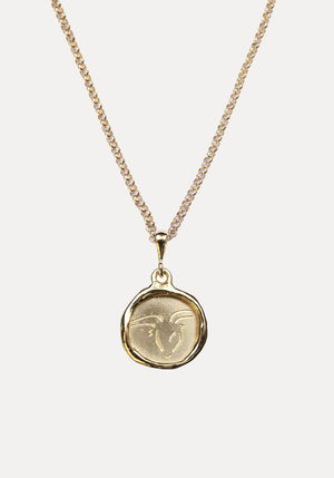 Line Saga x Holly Ryan Capricorn Necklace Gold
