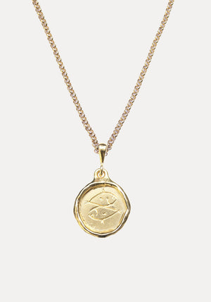 Line Saga x Holly Ryan Pisces Necklace Gold