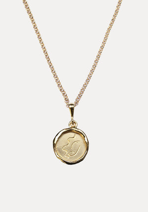 Line Saga x Holly Ryan Virgo Necklace Gold