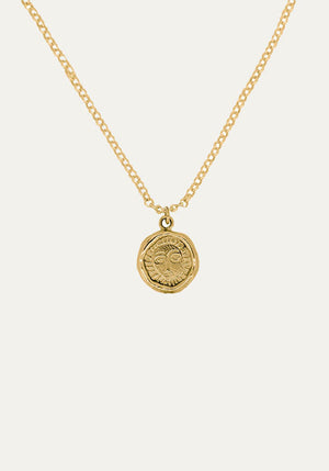Mini Picasso Necklace Gold